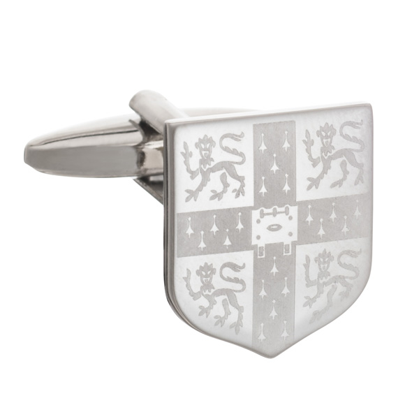 Cufflinks - Laser Engraved Crest