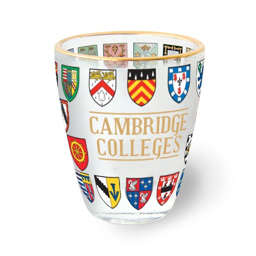 Cambridge Shot Glass – College Crests