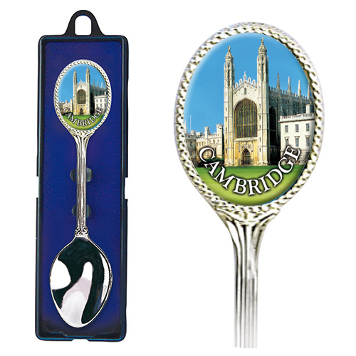 Cambridge Teaspoon – King's College Picture