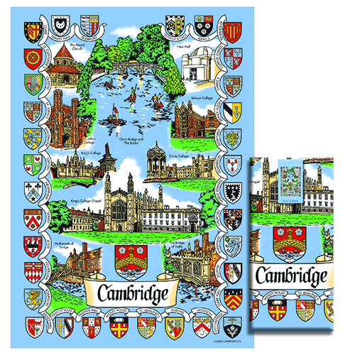 Cambridge Tea Towel – Cambridge Scenes