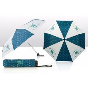 university-umbrella-blue-shield