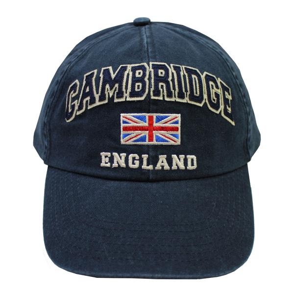 Cambridge Cap - Union Jack Navy