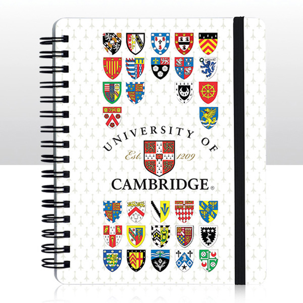 University Notepad College Crests