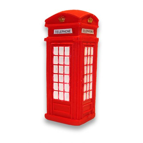 magnetic 3D red telephone box