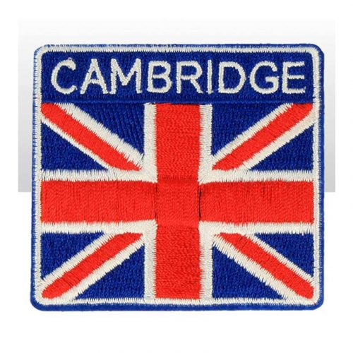 Cambridge Union Jack Iron-on Patch