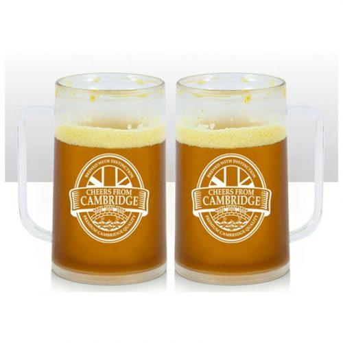 Cambridge beer mug with cheers