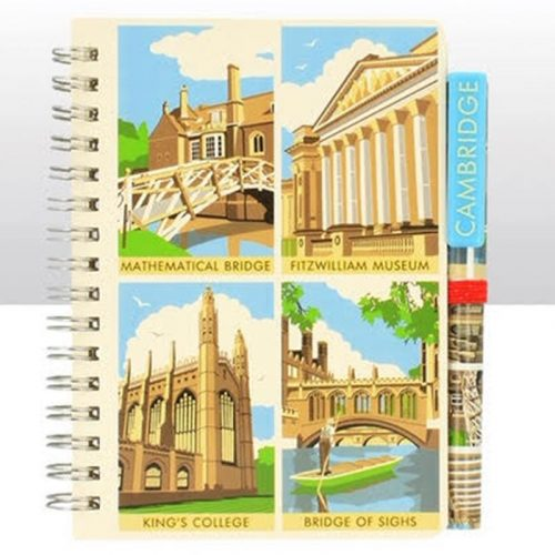 Contemporary Scenes Notepad and Pen Set