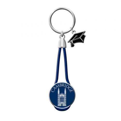 Keyring Kings College Charm Rope Leather