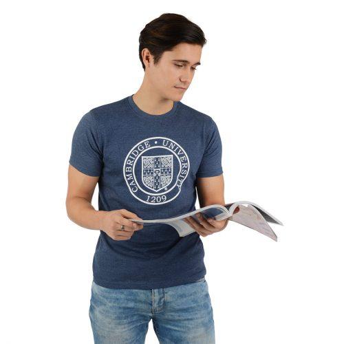 University-of-Cambridge-round-crest-printed-tshirt-navy-marl