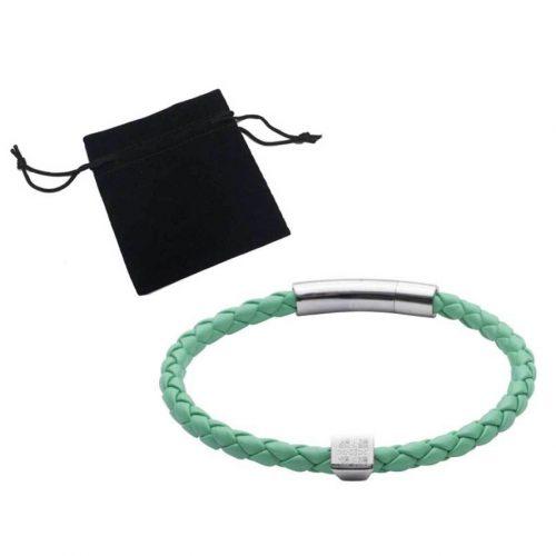 elizabeth-parker-University-of-Cambridge-blue-leather-bracelet
