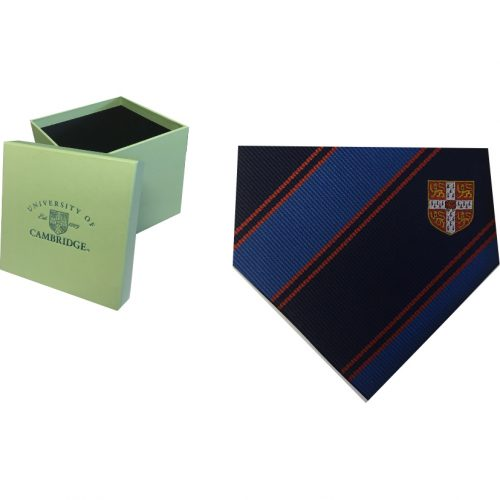 elizabeth-parker-University-of-Cambridge-red-crest-double-stripe-tie