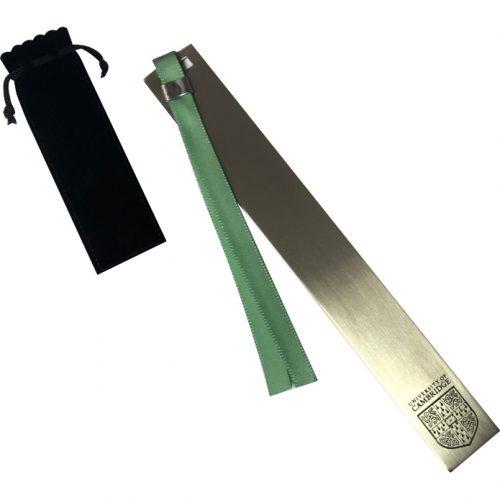 elizabeth-parker-University-of-Cambridge-stainless-steel-bookmark