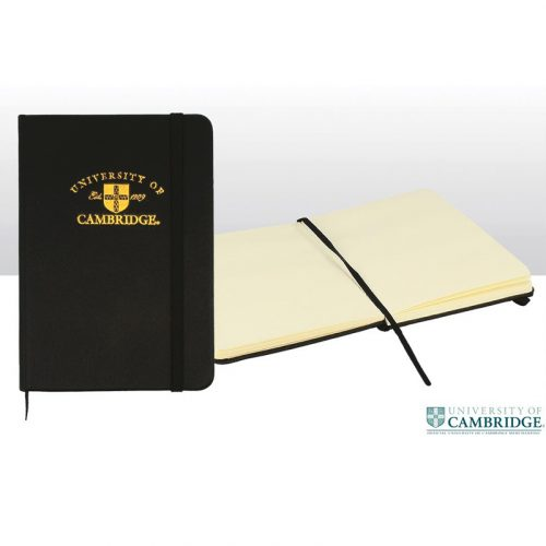 University of Cambridge A6 gold embossed pad