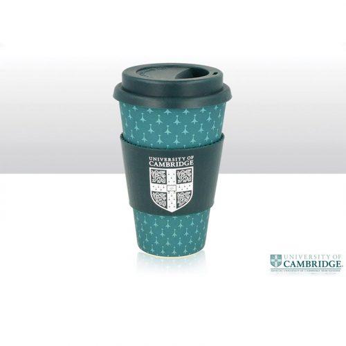 University of Cambridge bamboo fibre travel cup