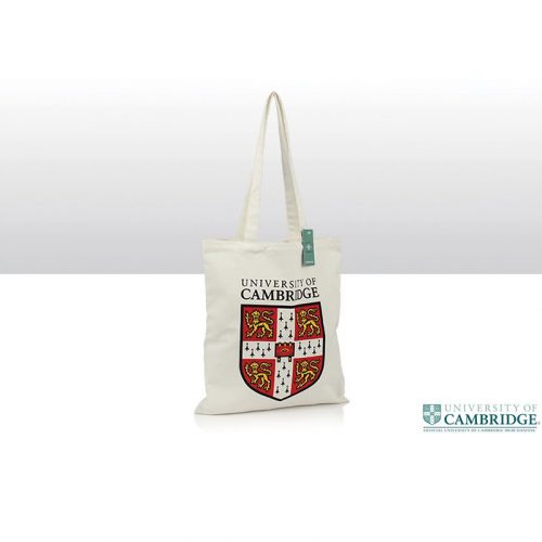 University cotton tote bag