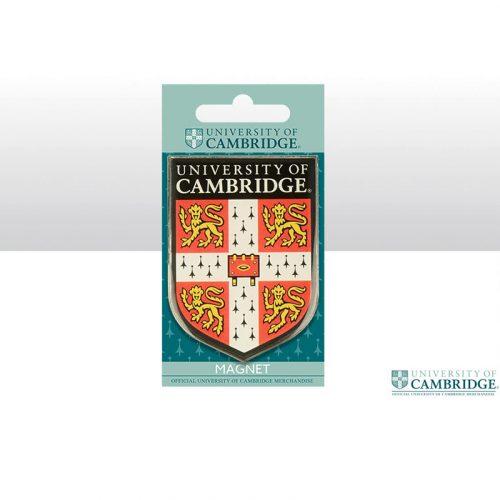 University of Cambridge red shield fridge magnet
