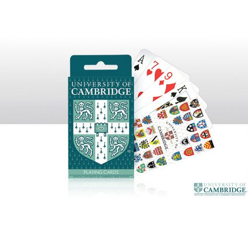 University of Cambridge playing cards