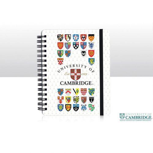 University of Cambridge spiral bound notepad